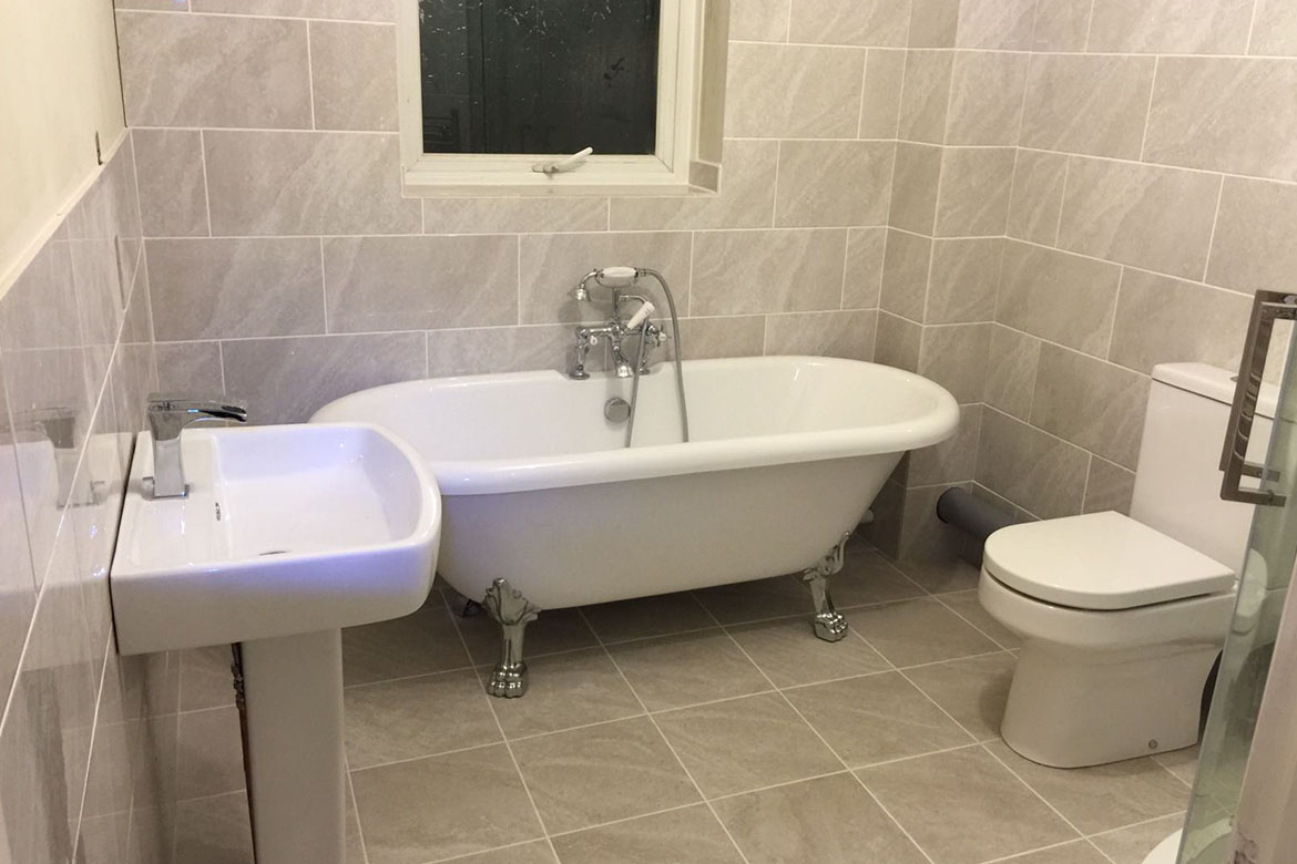 Bathroom Installion in Waterlooville including plumbing
